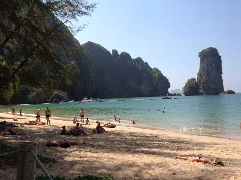 Пляж ао нанг, краби. как выглядит ao nang beach на самом деле