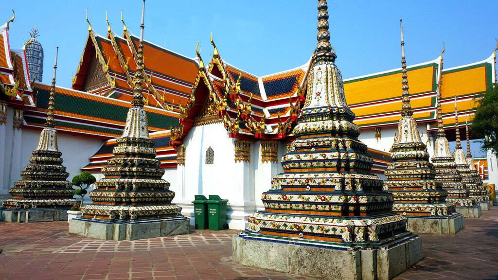 Храм лежащего будды, бангкок. отели рядом, фото, видео, как добраться — туристер.ру