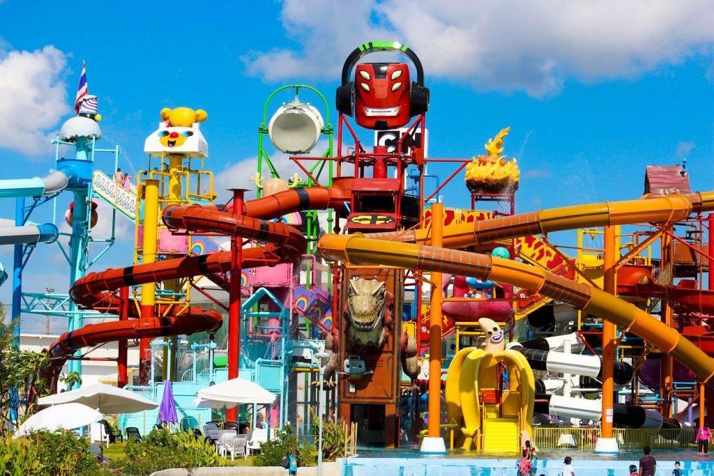 Cartoon network amazone - аквапарк в паттайе, фото, отзывы - 2021