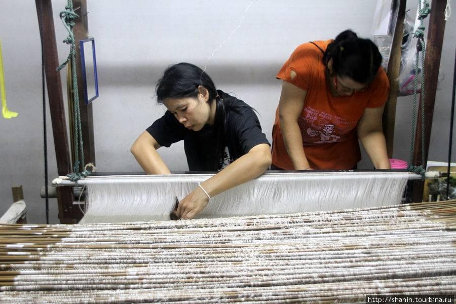 Тайский шелк. как получают? как проверить качество?