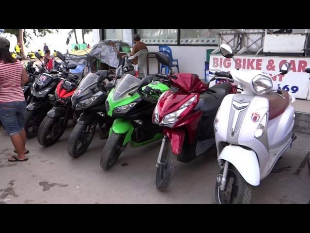 Аренда мотоцикла и автомобиля в тайланде