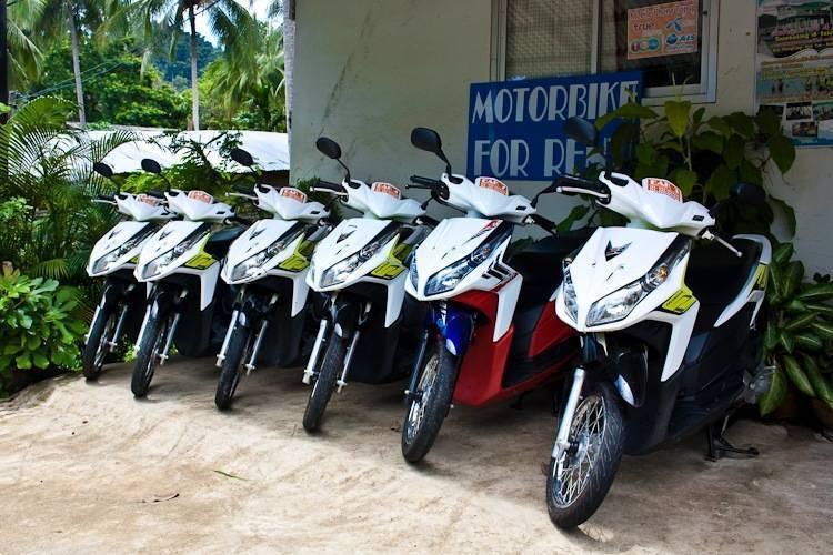 Скутер в тайланде. зачем и как его арендовать