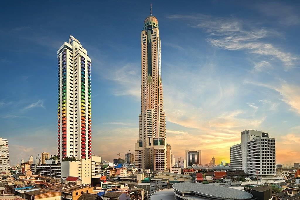 Baiyoke sky— самое высокое здание бангкока и туристический аттракцион