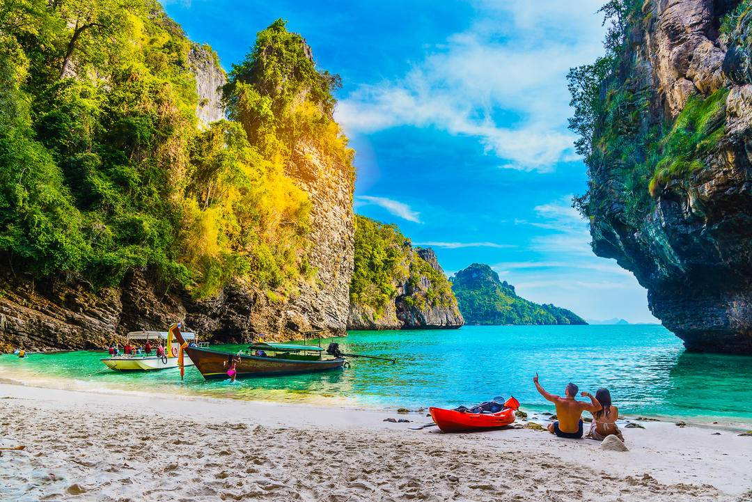 Какое море и океан в таиланде: что омывает остров пхукет