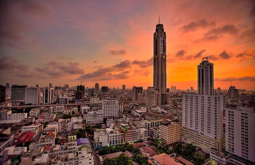 Башня байок скай (бангкок): описание, высота, смотровая площадка, рестораны и отели • вся планета