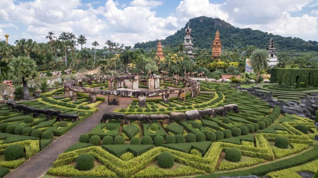 Тропический ботанический сад нонг нуч: описание, рекомендации.