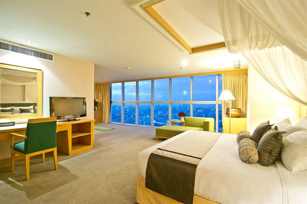 Отель байок скай (baiyoke sky hotel) в бангкоке. отзыв 2021