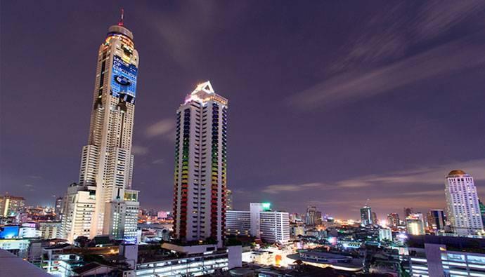 Башня-отель байок скай в бангкоке