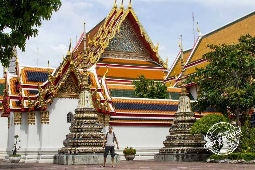 Ват сакет / wat saket / храм золотой горы в бангкоке