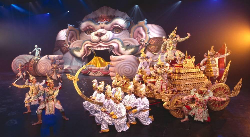 Fantasea – тематический парк развлечений на пхукете
