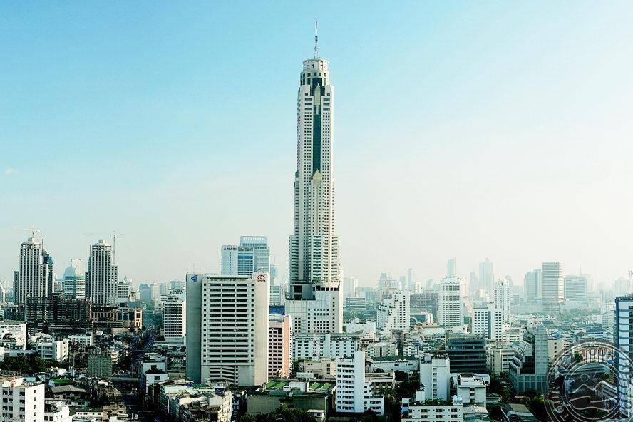 Башня байок скай (baiyoke sky) в бангкоке