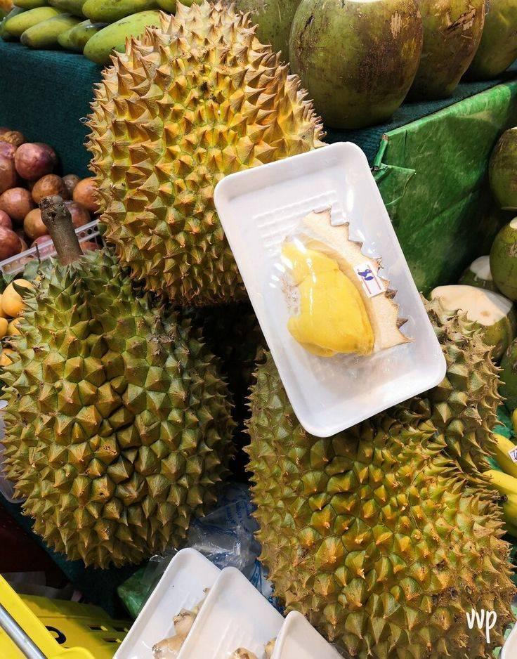 Дуриан фрукт, чем пахнет, вкус дуриана, состав и полезные свойства