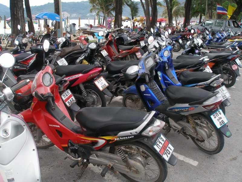 Скутер в тайланде. вопросы аренды байка