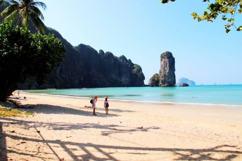 Ао нанг в краби, тайланд