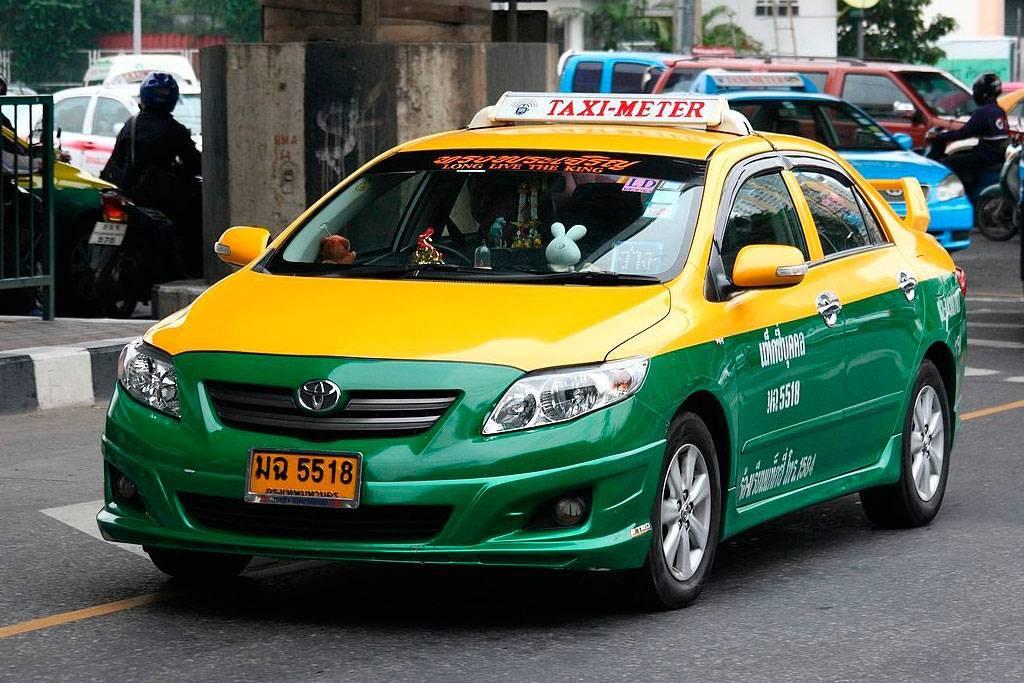 Такси в бангкоке - в аэропорту и городе, стоимость, счетчик