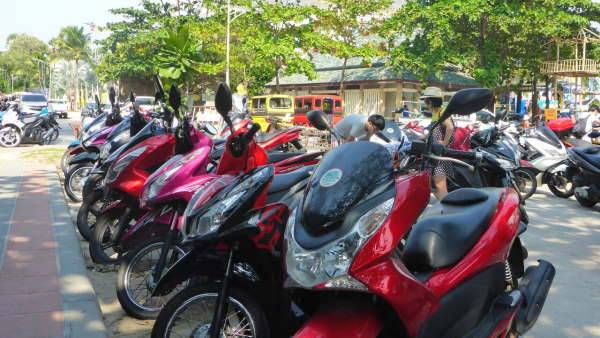Аренда байка в тайланде – важные нюансы