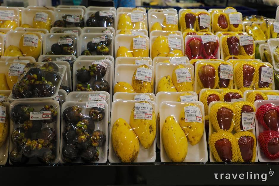 Сколько можно вывезти фруктов из тайланда