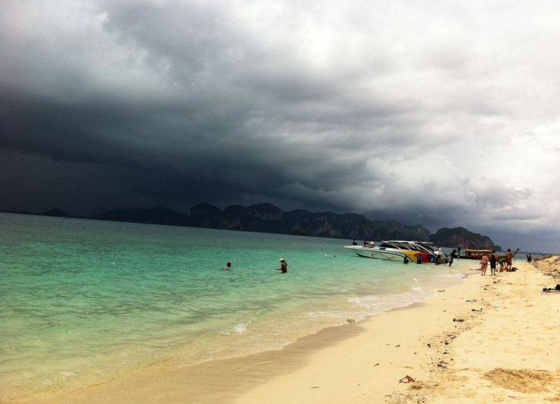 Krabi weather today hourly