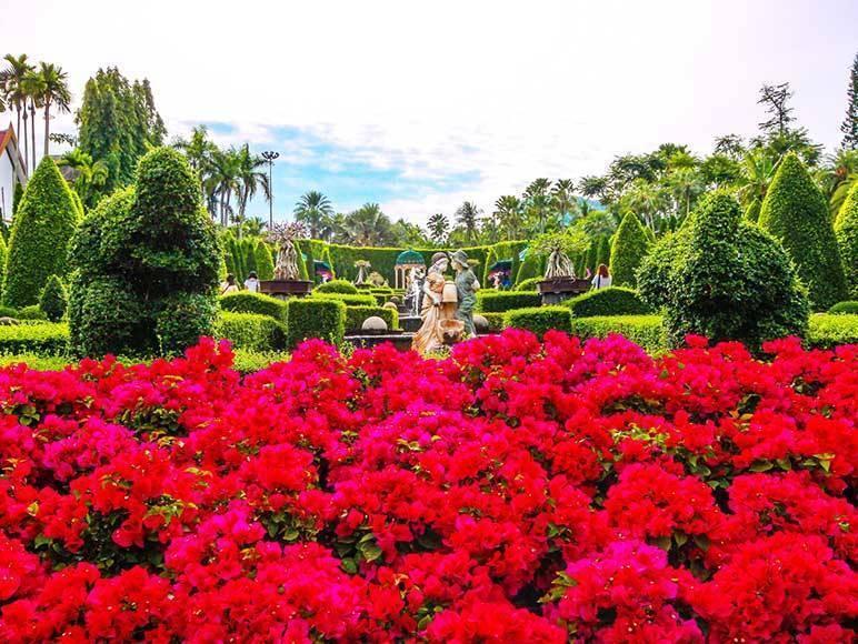 Парк нонг нуч в паттайе - микс тайских и европейских стилей!