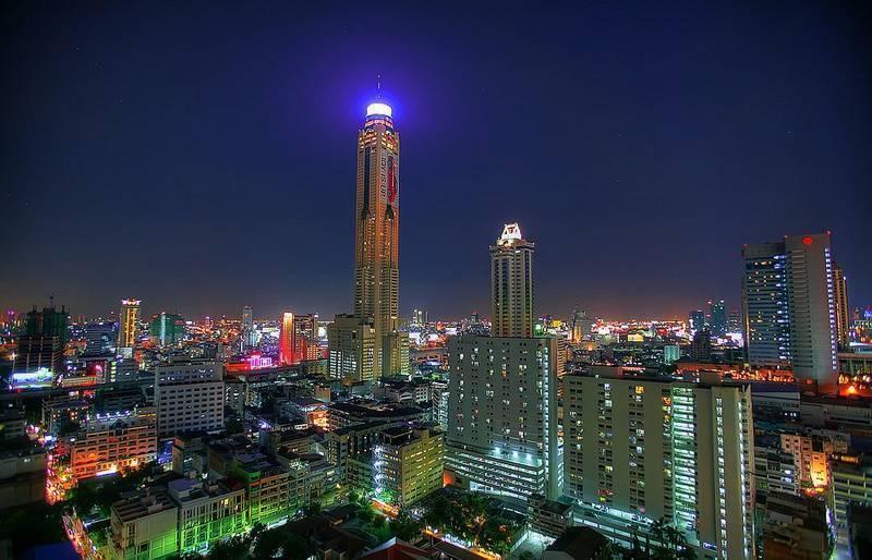 Baiyoke sky байок скай бангкок: лучшая смотровая площадка