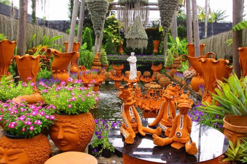 Нонг нуч - тропический парк. паттайя. таиланд. описание, фото.