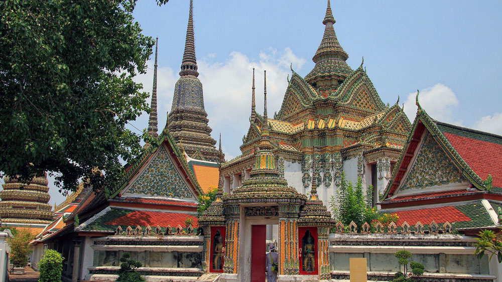 Ват сакет / wat saket / храм золотой горы —  смотрим на бангкок в домашней атмосфере