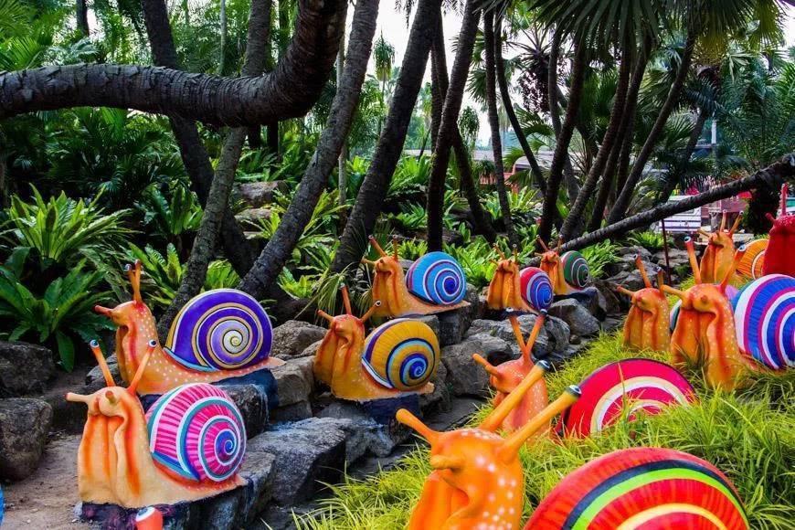 Тропический парк нонг нуч: лучшее место на земле!