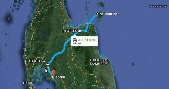 Как добраться от пхукета до краби: автобус, самолет, паром, такси, машина. расстояние, цены на билеты и расписание 2021 на туристер.ру