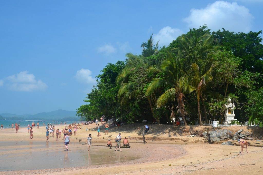 Пляжи краби в таиланде | мировой туризм