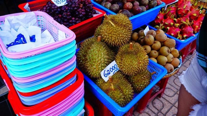 Какие фрукты везут из тайланда