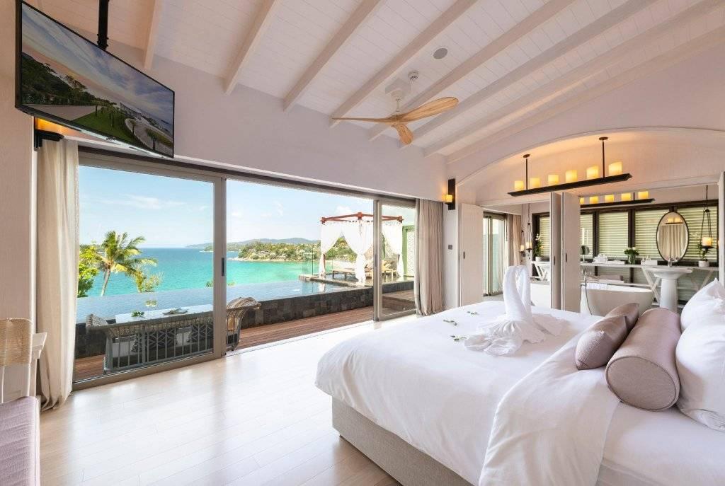 Лучшие отели 5 звёзд с собственным пляжем на пхукете