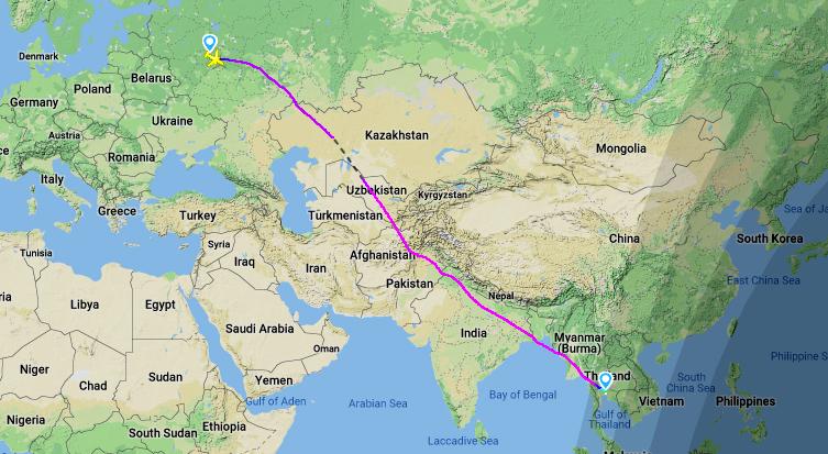 Перелет в тайланд - я живу в таиландея живу в таиланде