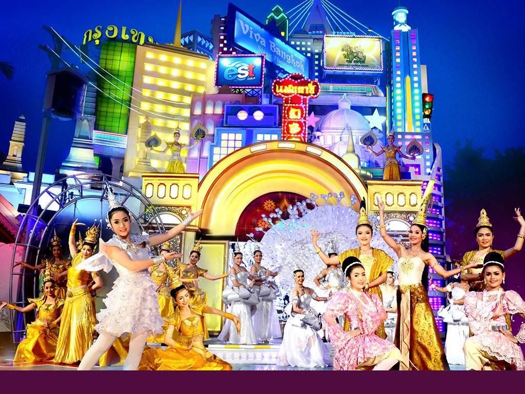 Шоу фантазия на пхукете — мой отзыв о самом большом парке развлечений