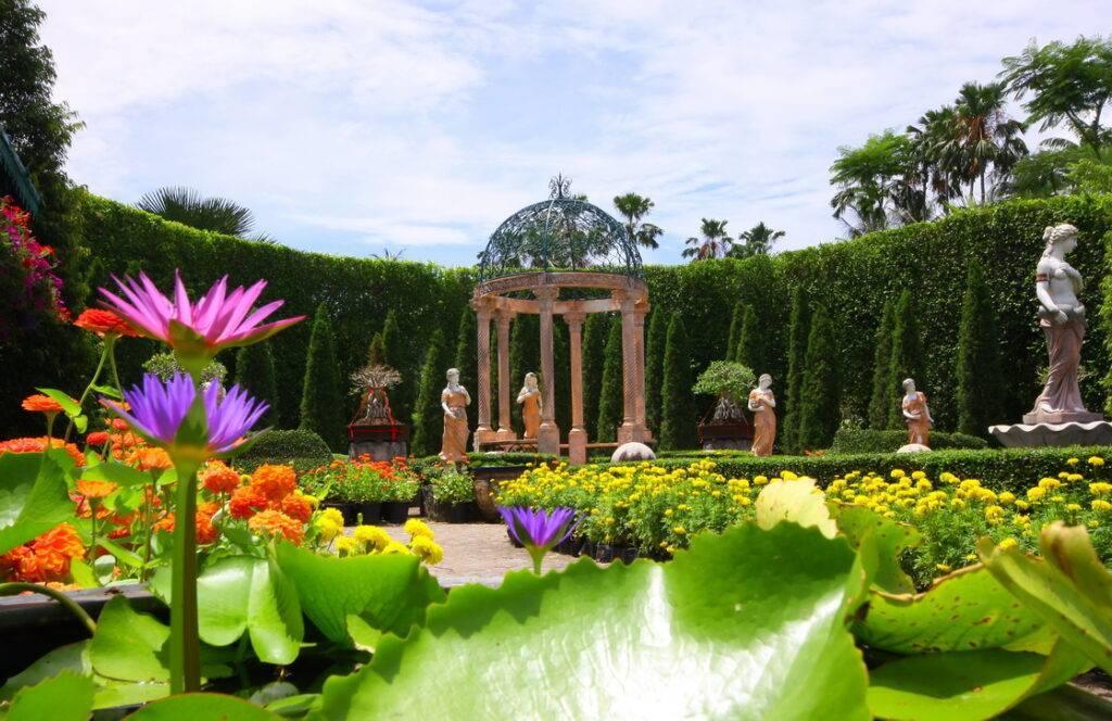 Развлечение для всей семьи: тропический парк нонг нуч в паттайе