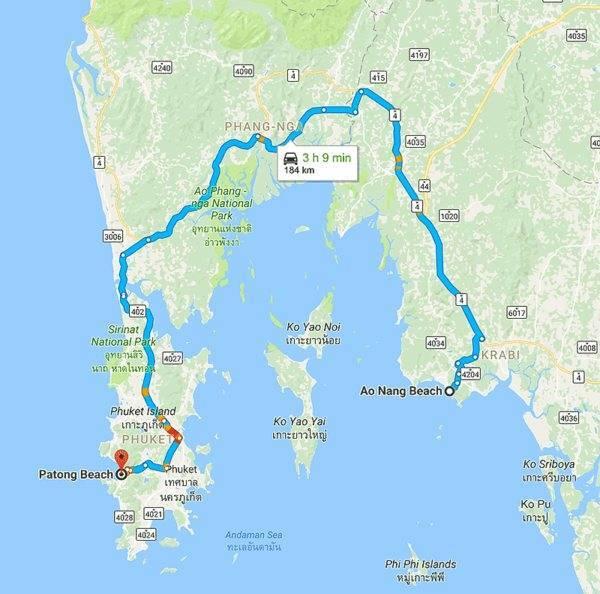 Как добраться с пхукета на самуи - самолет, автобус, такси