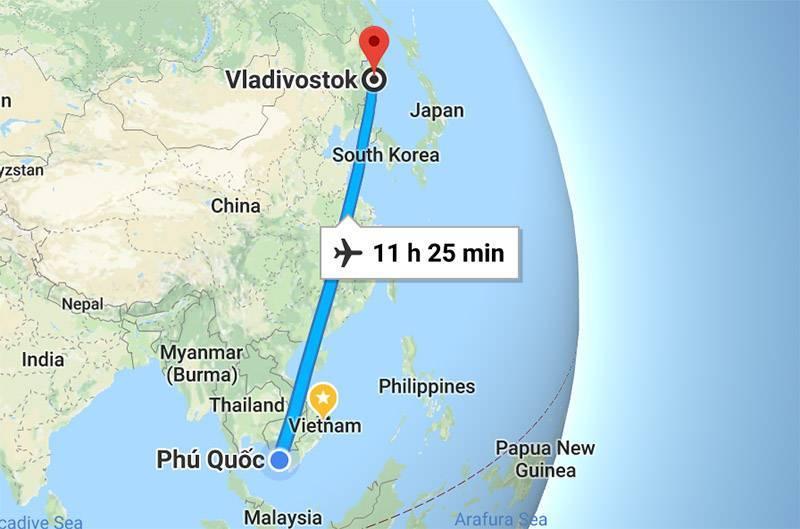 Перелет в тайланд
