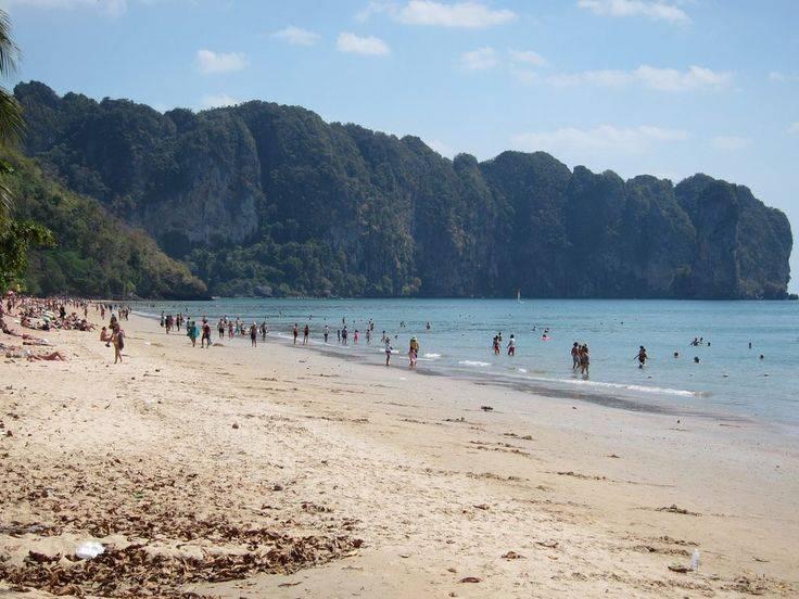 Пляж ао нанг (ao nang) — самый лучший и популярный в краби