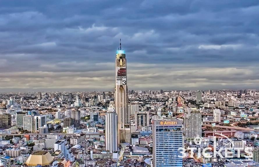 Башня байок скай в бангкоке - смотровые площадки, рестораны, отель