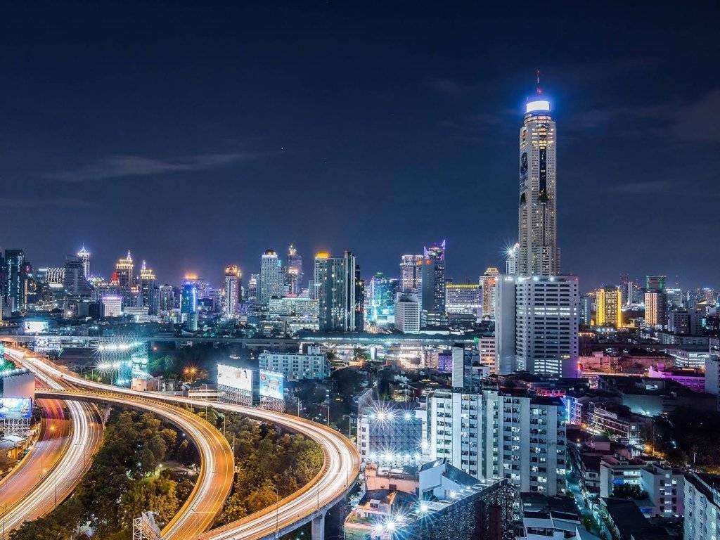 Отель baiyoke sky район pratunam, бангкок, таиланд