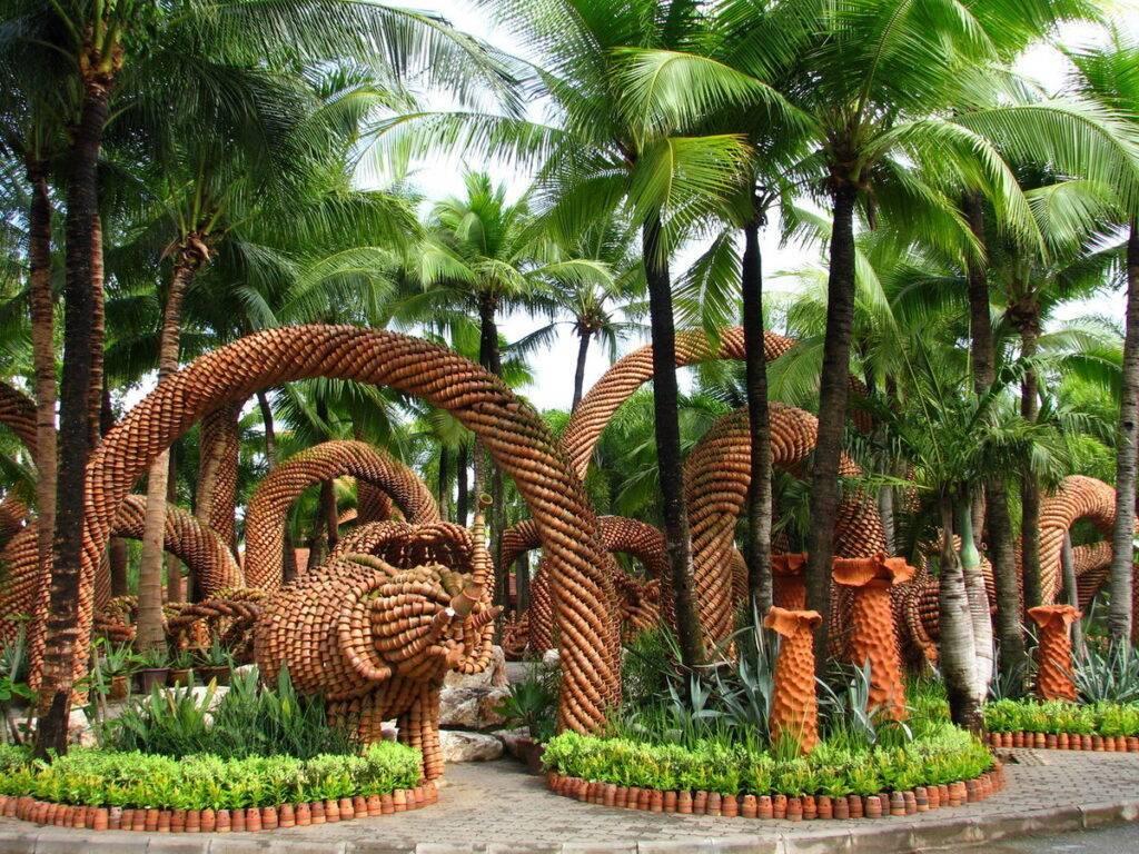 Что посмотреть в тропическом парке нонг нуч ????