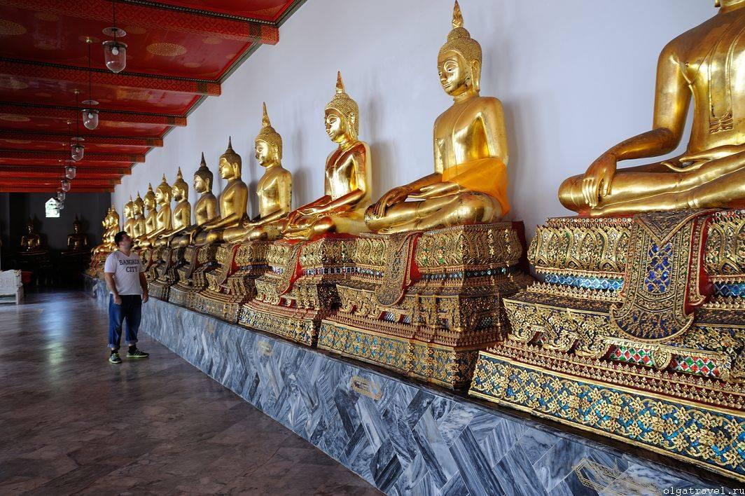 Храм лежащего будды в бангкоке (wat pho)