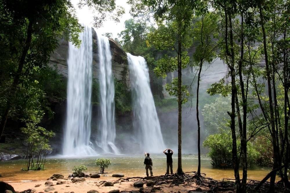 Водопад тон ао йон (ton ao yon waterfall), пхукет