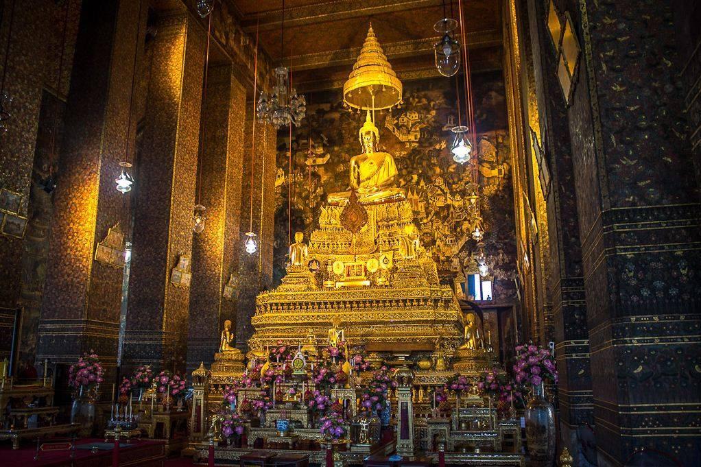 Ват пхо – храм лежащего будды в бангкоке