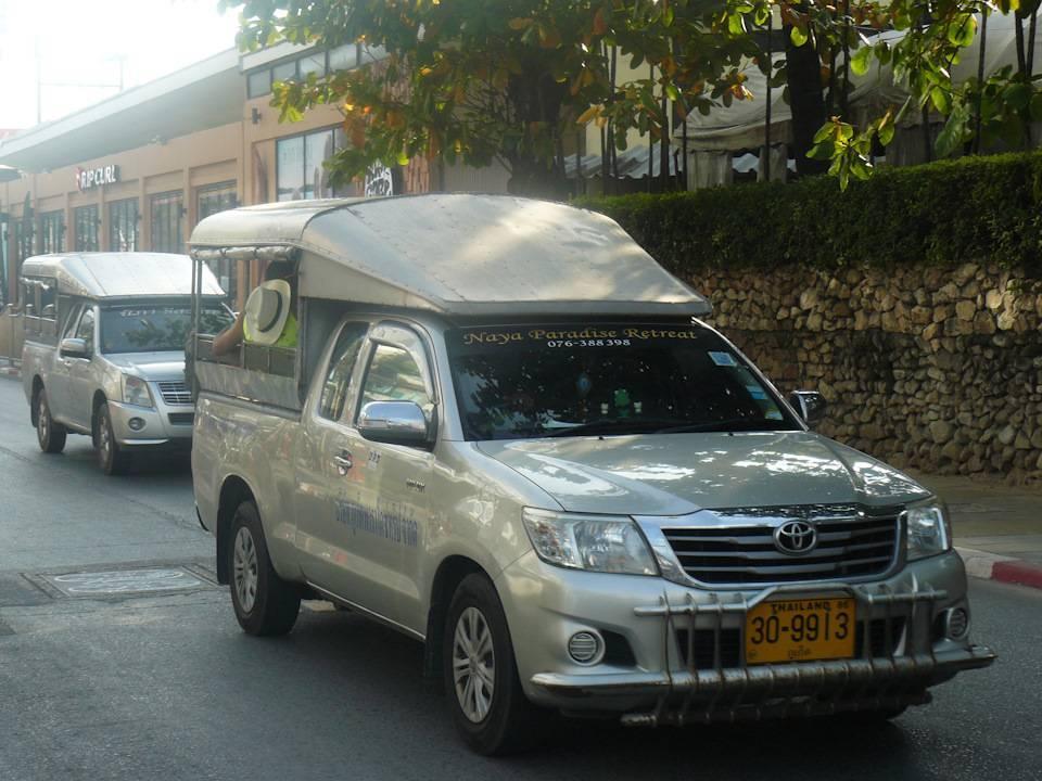Аренда авто в тайланде - как это было...