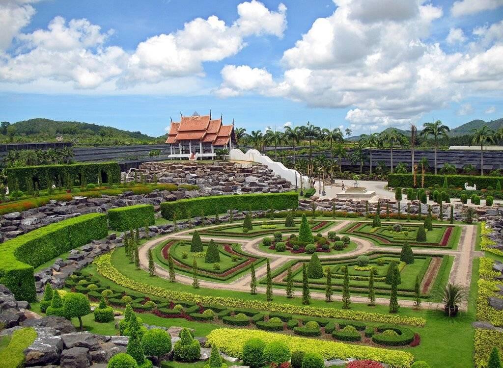 Тропический парк (сад) нонг нуч в паттайе