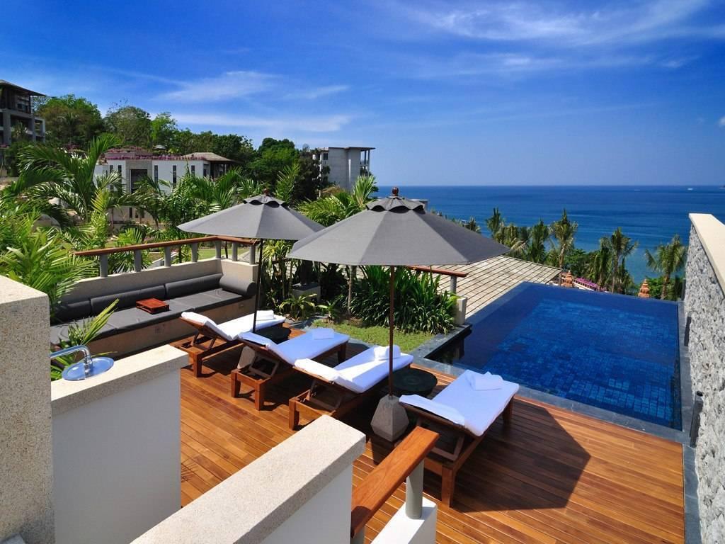 Отели пхукета с собственным пляжем лучшие по рейтингу, 4 и 5 звезд
