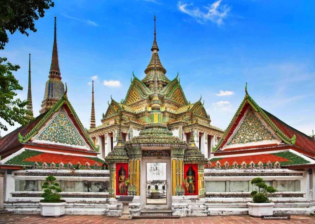 Храм золотой горы (ват сакет), бангкок. отели рядом, фото, видео, как добраться — туристер.ру