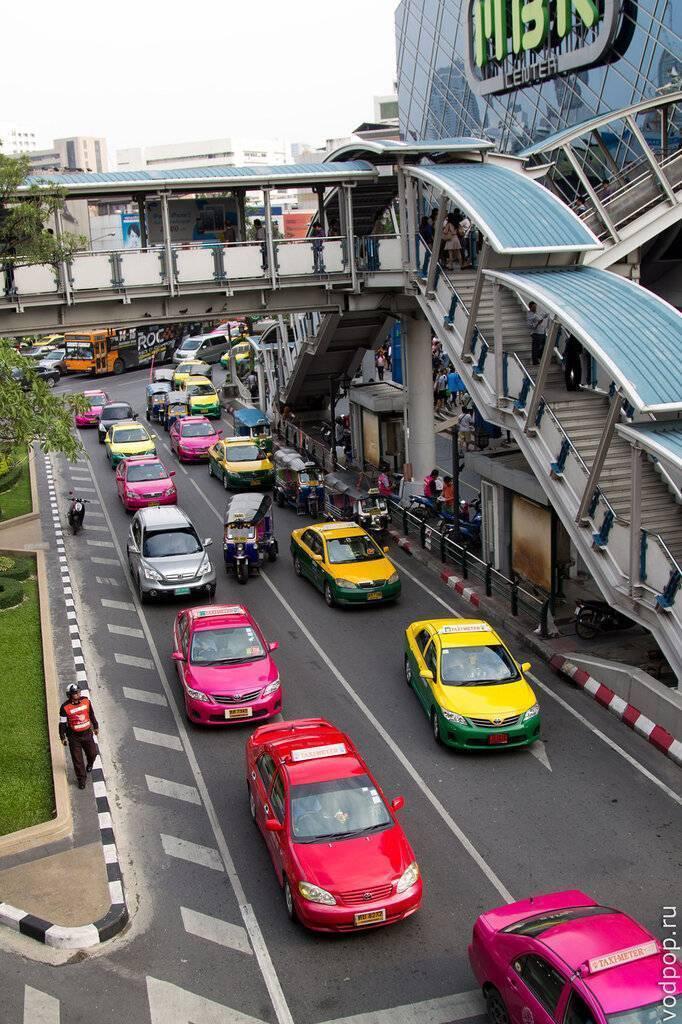 Как добраться из аэропорта бангкока в центр города?