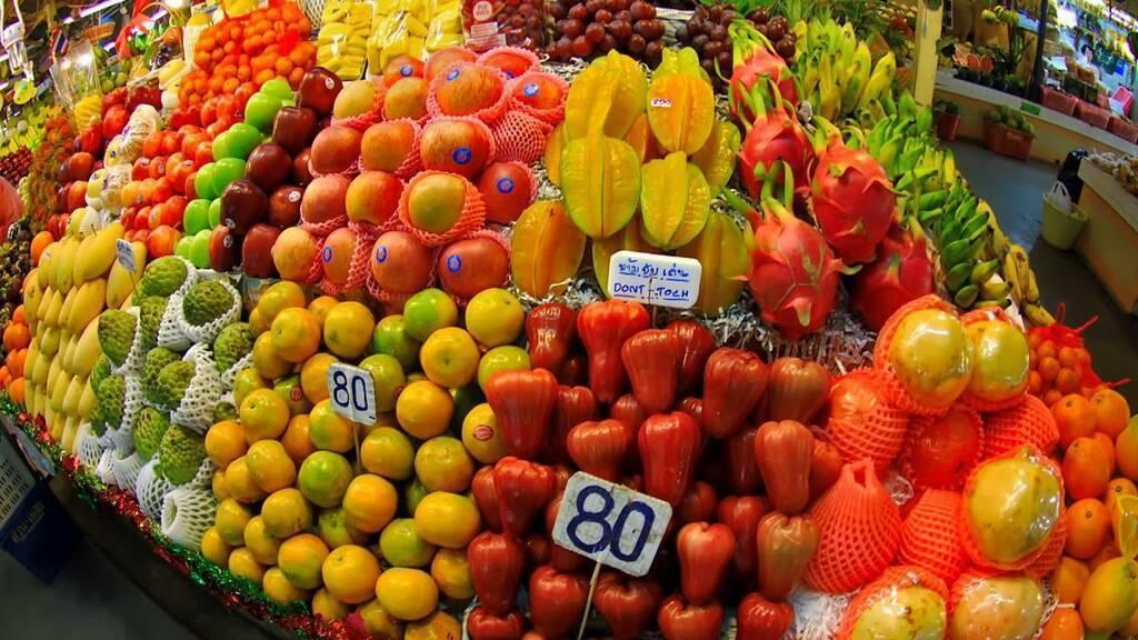 Как правильно вывезти фрукты из тайланда